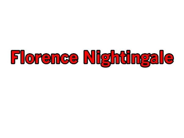 Florence Nightingale - Total Song Pack