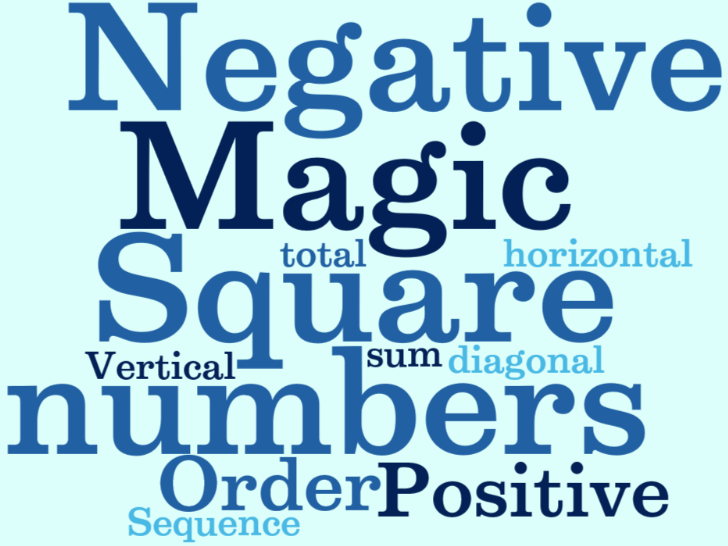 Upper Key Stage 2 (Year 5 & Year 6) - to solve problems involving negative numbers