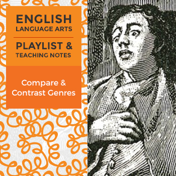 Compare & Contrast Genres - Playlist and Teaching Notes