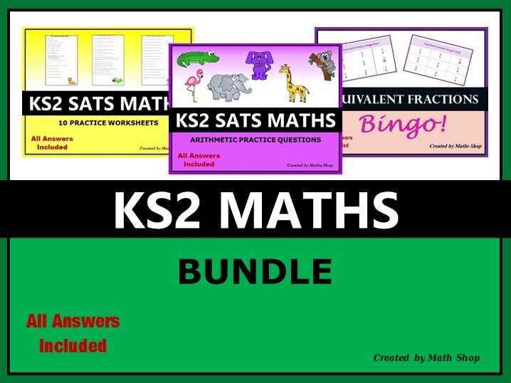 KS2 Maths Bundle