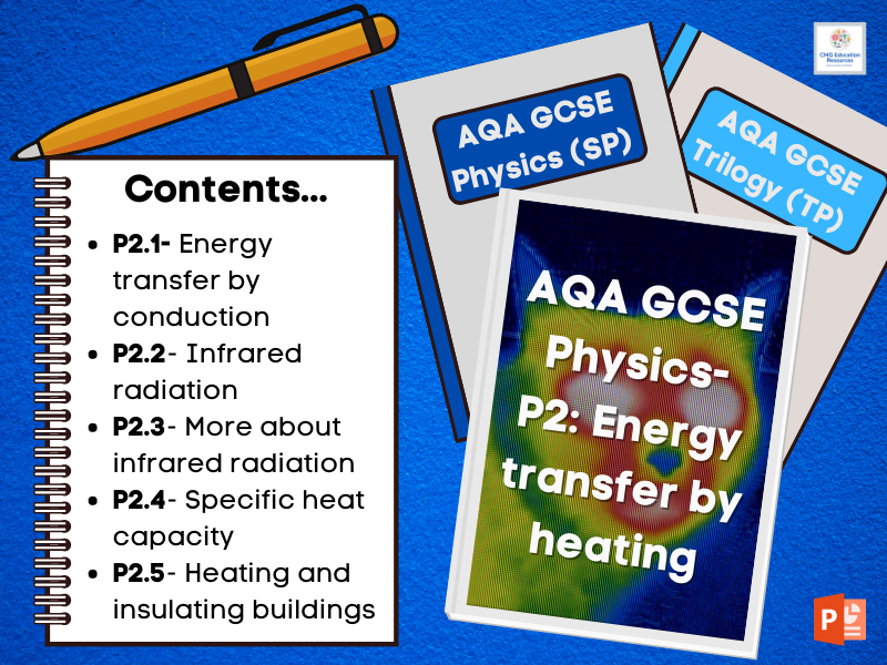 P2 Energy transfer by heating bundle (AQA 9-1 GCSE Physics)