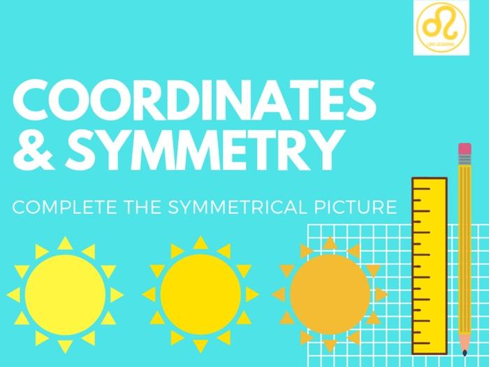 Coordinates Symmetry 4 Quadrants