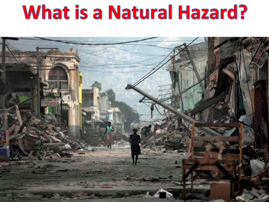 KS3 GEOGRAPHY SOW - Natural Hazards BUNDLE
