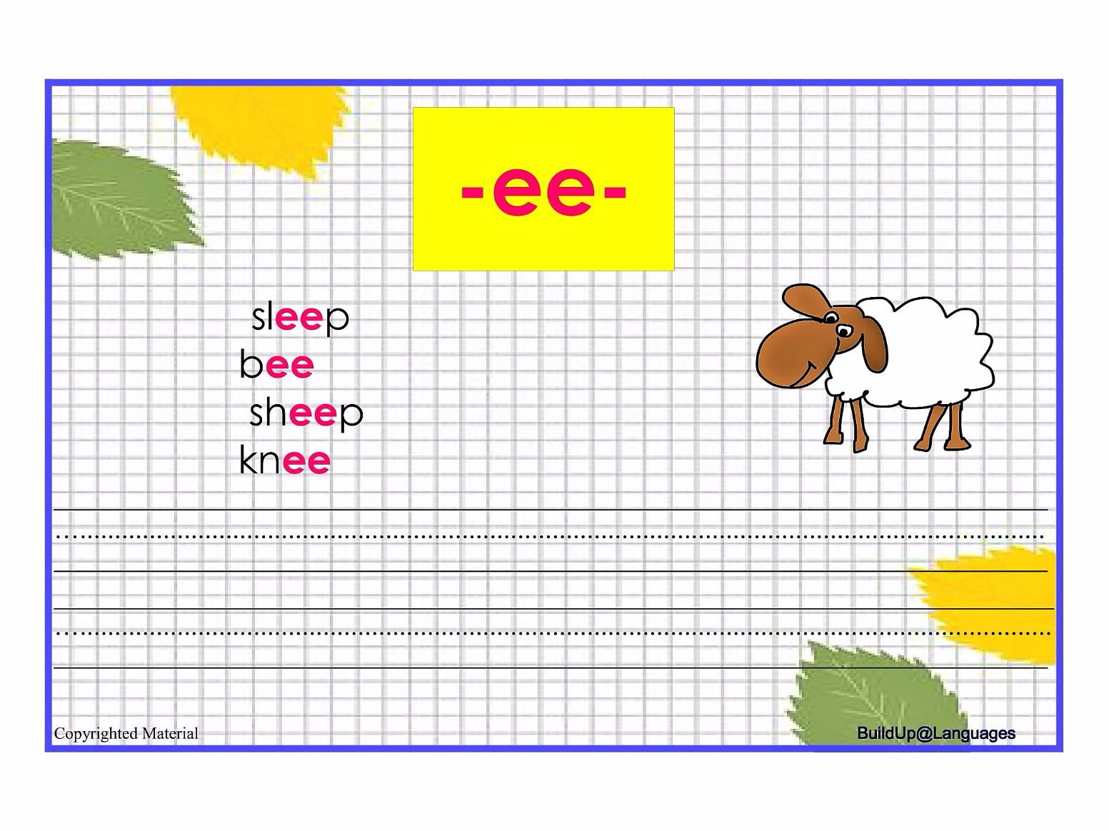 Worksheets Ou Ow Worksheets ee oo oa ou ow phonics by planactivity teaching resources tes tes