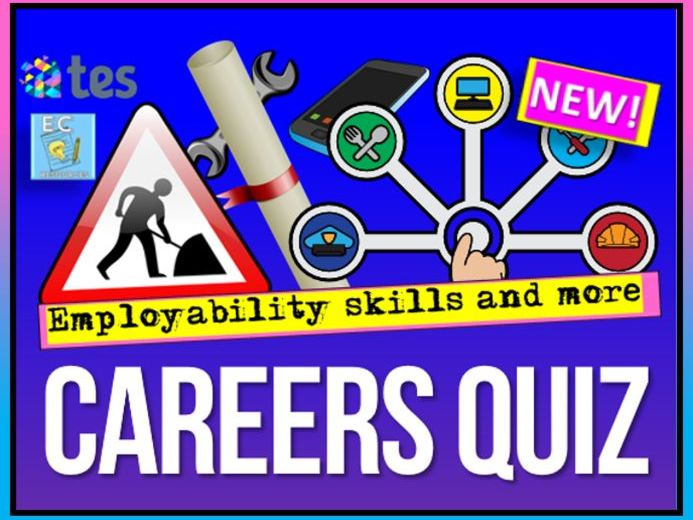Careers + Jobs Quiz