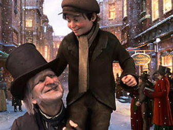 A Christmas Carol Visual: plot and Scrooge's character development