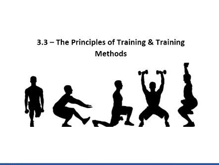 Edexcel GCSE PE 9-1. Principles of Training Workbook.