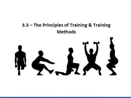 Training Principles Aquathlon