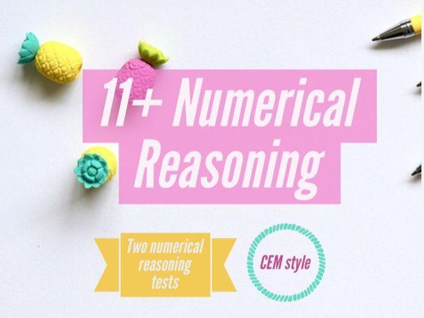 11+ CEM Numerical Reasoning