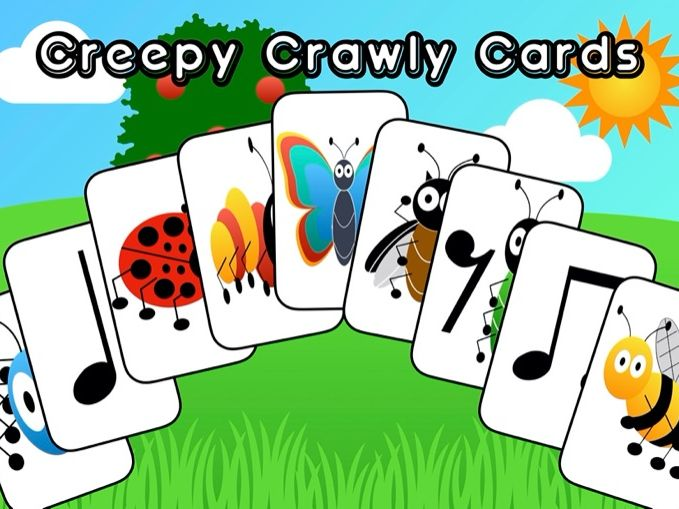 Creepy Crawly Cards