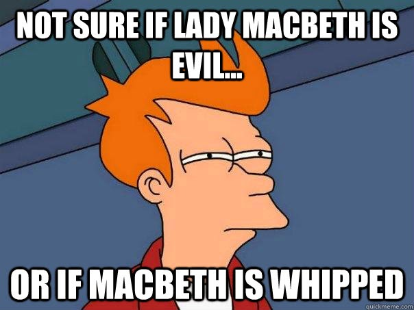 Macbeth Mock exam question with full mark response