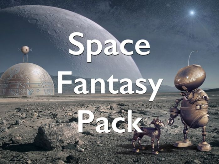 Picture Processor - Space Fantasy Pack