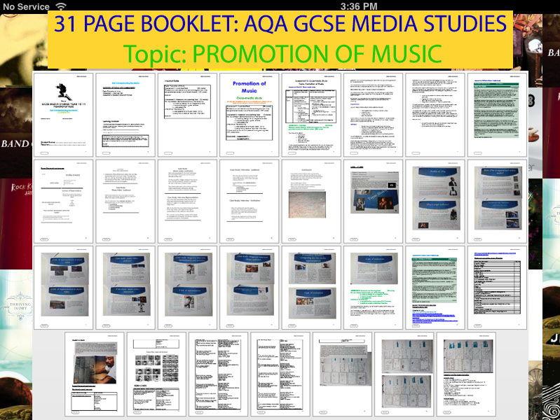 Aqa gcse media coursework mark scheme