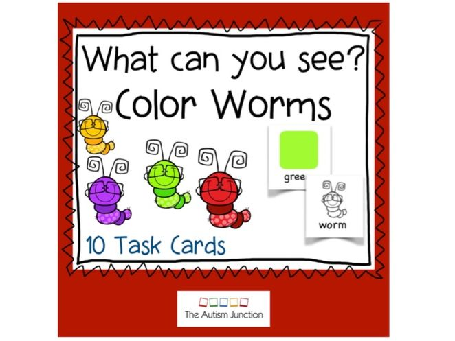 What can you see? Color Worms US version