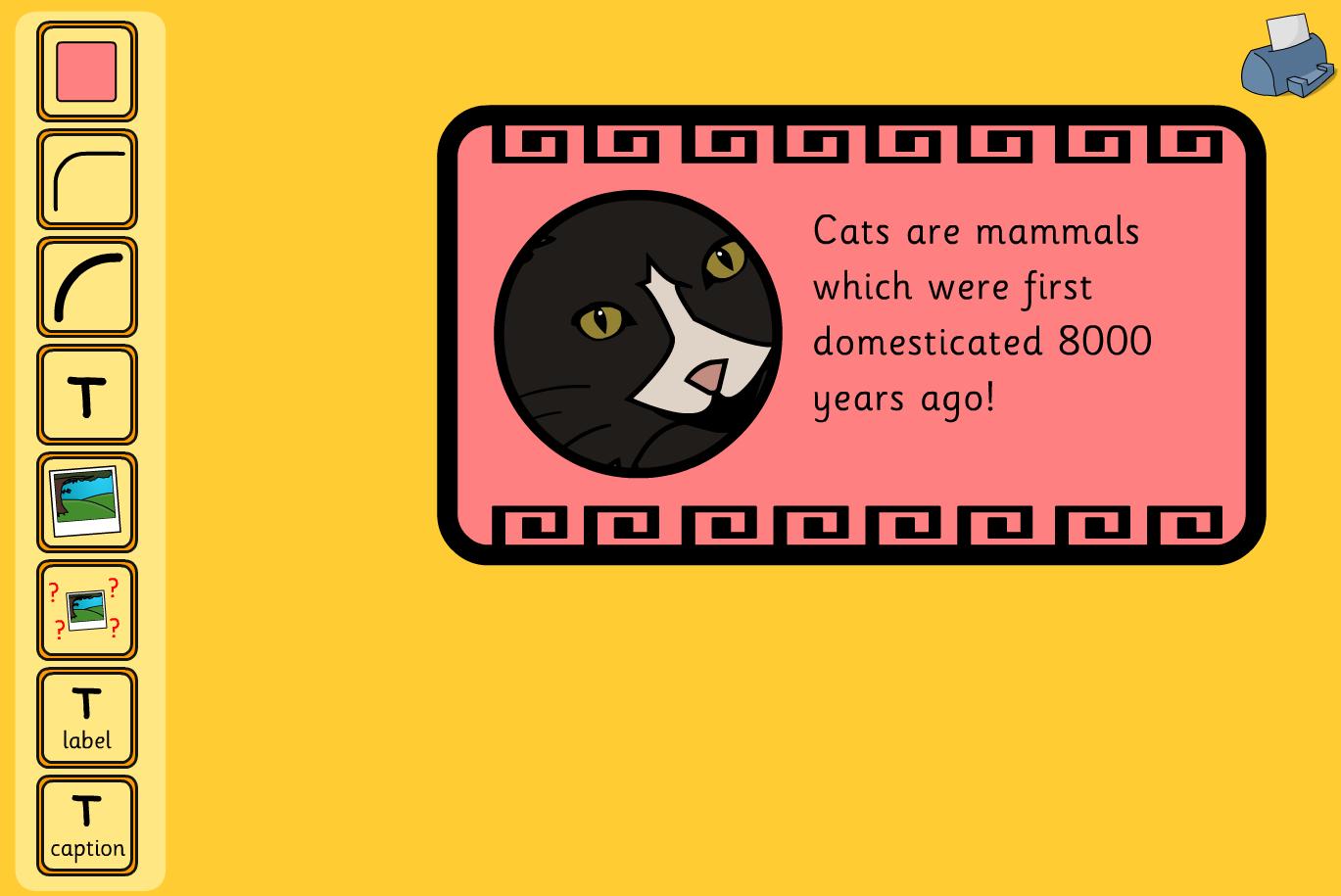 Label maker - Mammals and Birds - KS1 Literacy