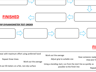 STRENGTH AND SPEED WORKSHEET