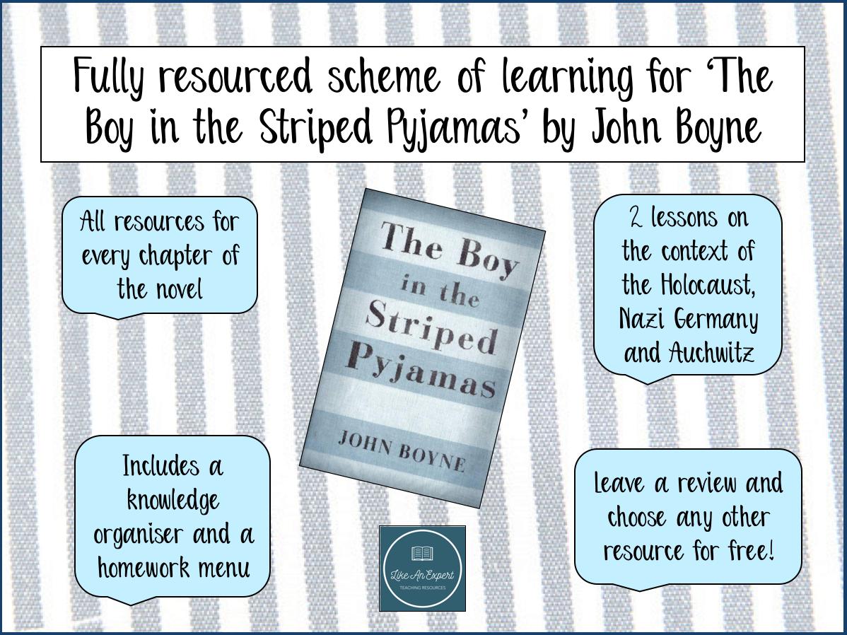 The Boy In The Striped Pyjamas - full scheme