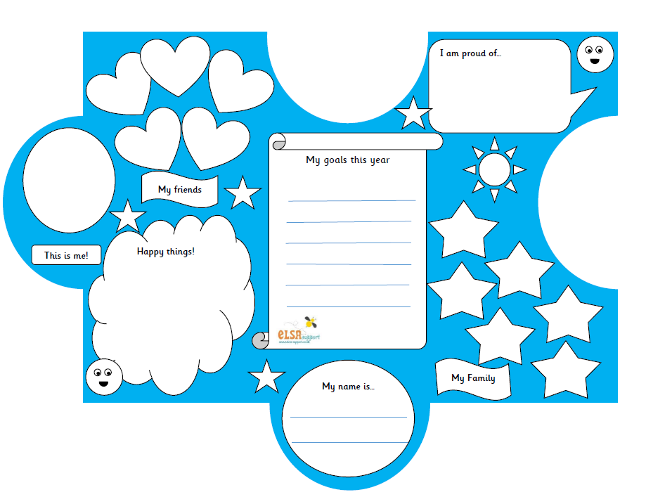 PSHE: All About Me - Jigsaw transition activity
