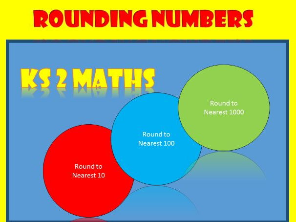 Rounding Whole Numbers: KS2 Maths Worksheets