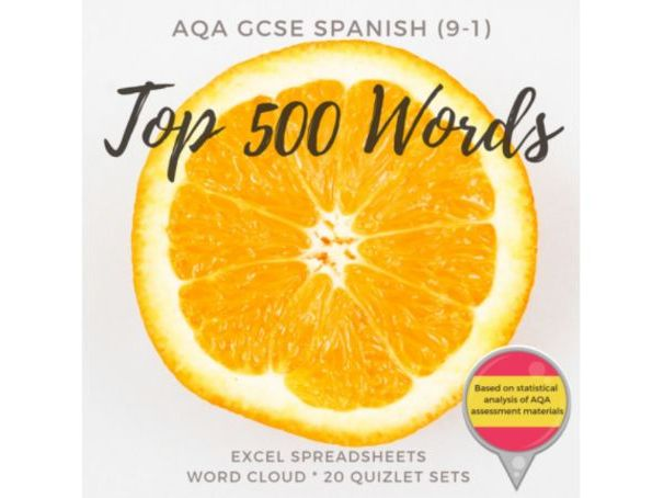 AQA GCSE Spanish 500 Most Common Words