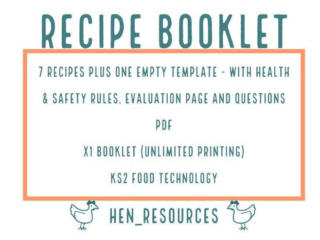 Sweet & Savoury Recipe Booklet
