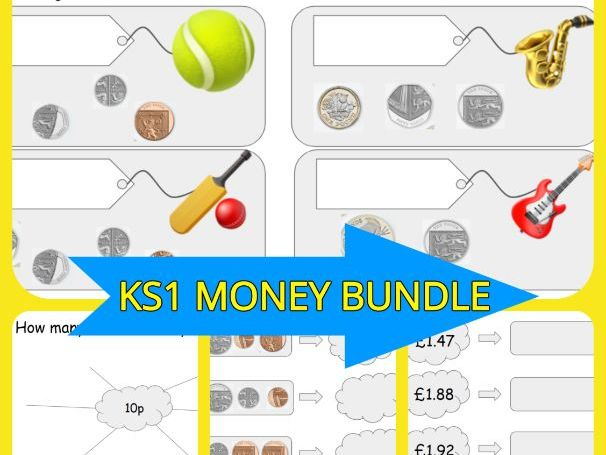 KS1 Money Maths Bundle
