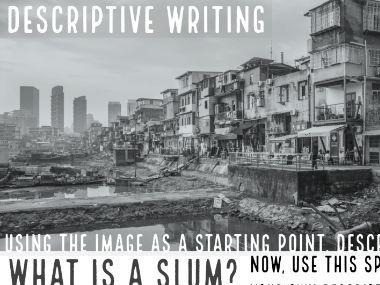 Slum Descriptive Writing Task: AQA Language Paper 01B