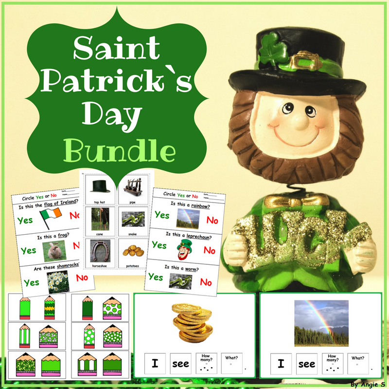 Saint Patrck`s Day Activities
