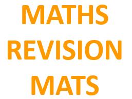 Maths Revision Mats