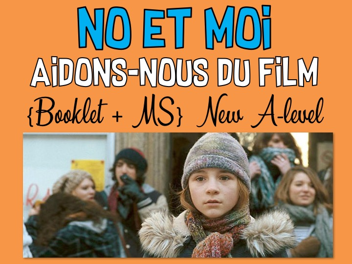 No et moi * Aidons-nous du film * Booklet + MS * New A-level * NEW!!