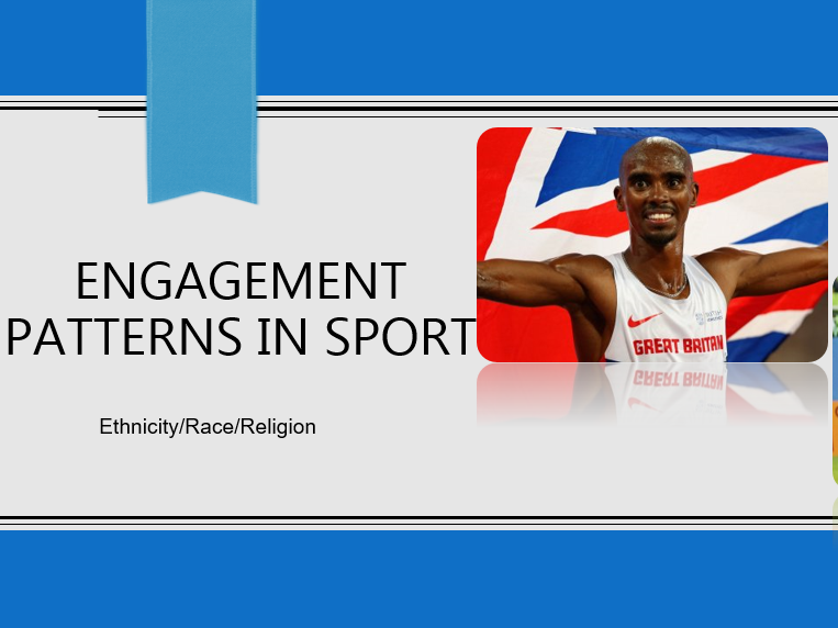 AQA GCSE PE 1-9 - Engagement Patterns in Sport - Ethnicity/Race/Religion