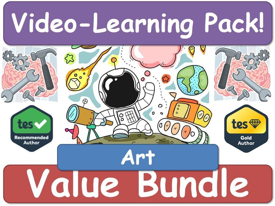Art! Art! Art! [Video Learning Pack] ART!