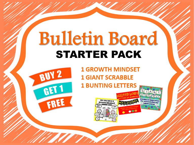 Bulletin Board Starter Pack - Bundle!