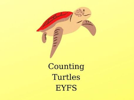 Counting  Small and Big Turtles- Worksheet-EYFS