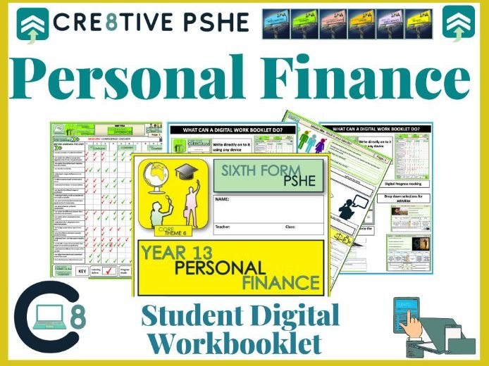 Personal Finance  PSHE Digital booklet