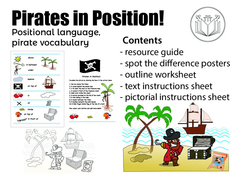 Pirates in Position!