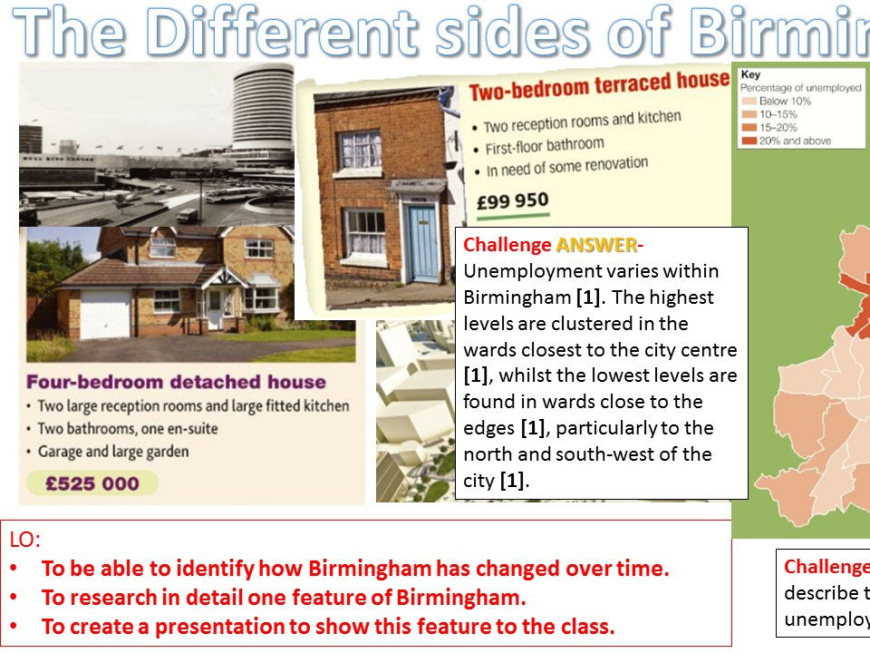 NEW OCR B Urban Futures Birmingham Bundle