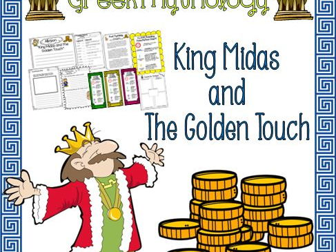 Greek Mythology King Midas Packet