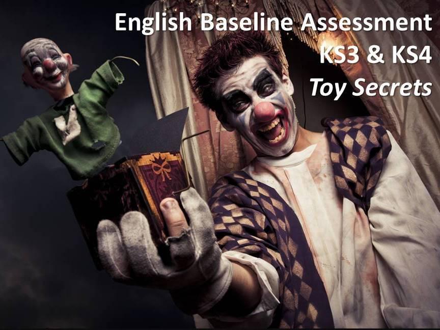 Baseline Assessment English Language KS3 KS4