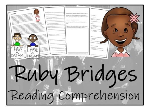 UKS2 History - Ruby Bridges Reading Comprehension Activity