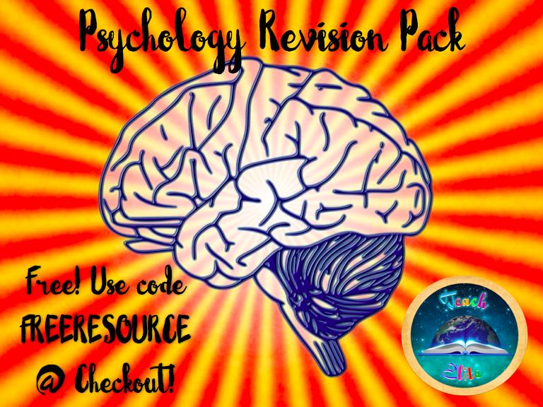 Psychology Revision Pack.