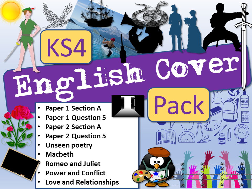 English Cover KS4