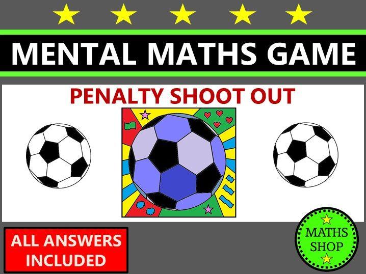 World Cup Football Mental Maths Game