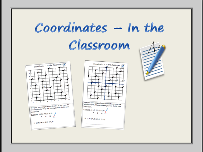 Coordinates In The Classroom