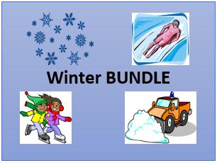 Winter in English Bundle