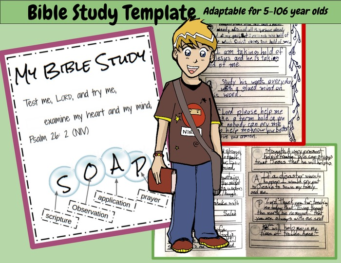 Bible Study: SOAP Devotion- How to Study a Bible Verse