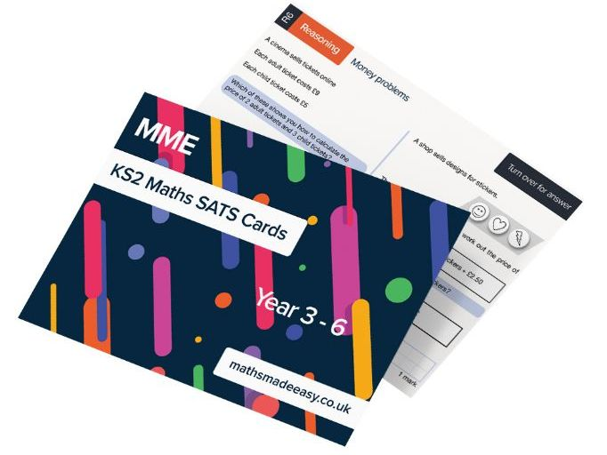 KS2 SATs Revision Cards - Maths Made Easy