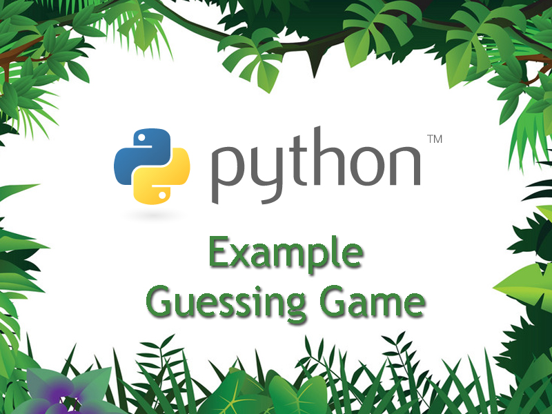 Beginning Python Programming – Guessing Game