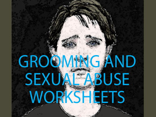 Grooming Worksheet, Sexual Harassment Hot Seating Lesson and Poster, Abuse by Text Quiz Bundle
