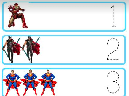 Superhero Maths for Early Years and SEN